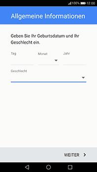 Huawei P10 Plus - Apps - Einrichten des App Stores - Schritt 8