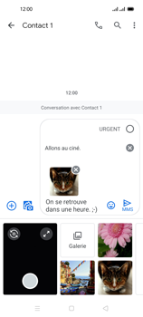 Oppo Reno 4 Pro - Contact, Appels, SMS/MMS - Envoyer un MMS - Étape 22
