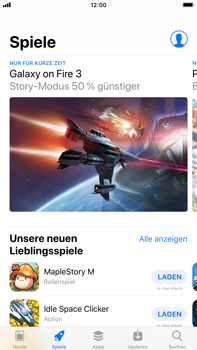 Apple iPhone 6 Plus - iOS 12 - Apps - Herunterladen - Schritt 5