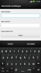 HTC One - E-mail - Account instellen (IMAP met SMTP-verificatie) - Stap 9