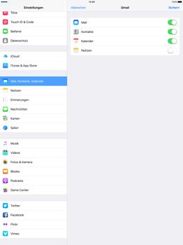 Apple iPad Pro 12.9 inch - E-Mail - Konto einrichten (gmail) - 0 / 0