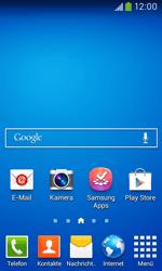 Samsung Galaxy Ace III - Startanleitung - Installieren von Widgets und Apps auf der Startseite - Schritt 2