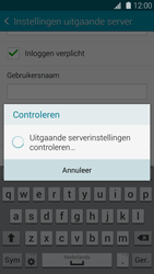 Samsung G900F Galaxy S5 - E-mail - handmatig instellen - Stap 15