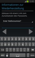 Samsung I9100 Galaxy S2 mit Android 4.1 - Apps - Konto anlegen und einrichten - Schritt 14