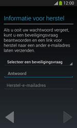 Samsung Galaxy S3 Mini Lite - apps - account instellen - stap 13
