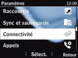 Nokia Asha 201 - Bluetooth - connexion Bluetooth - Étape 6