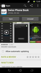 Sony Xperia T - Applications - Installing applications - Step 9