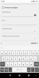 Sony Xperia XZ2 Compact - Android Pie - E-Mail - Konto einrichten - Schritt 12