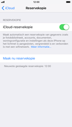 Apple iPhone 6 - iOS 11 - toestel resetten - back-up maken met jouw account - stap 14