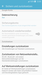 Samsung Galaxy J5 (2016) - Fehlerbehebung - Handy zurücksetzen - 8 / 14