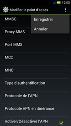 Acer Liquid E3 - MMS - Configuration manuelle - Étape 15