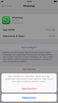 Apple iPhone 6s Plus - Apps - Apps deinstallieren - 7 / 8