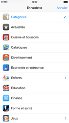 Apple iPhone 6 iOS 8 - Applications - installation d