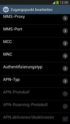 Samsung Galaxy S4 LTE - Internet - Manuelle Konfiguration - 12 / 26