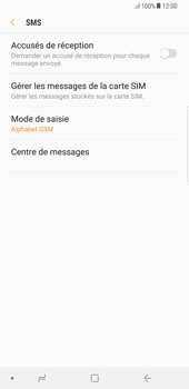 Samsung Galaxy S8 Plus - Android Oreo - SMS - Configuration manuelle - Étape 8
