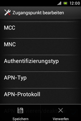 Sony Xperia E - MMS - Manuelle Konfiguration - Schritt 15