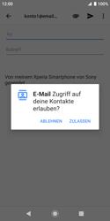 Sony Xperia XZ2 Compact - Android Pie - E-Mail - E-Mail versenden - Schritt 5