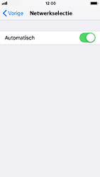 Apple iPhone SE - iOS 12 - Netwerk - Handmatig een netwerk selecteren - Stap 5