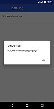 Motorola Moto G6 - voicemail - handmatig instellen - stap 12