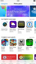 Apple iPhone 6 Plus - iOS 8 - Applicazioni - Configurazione del negozio applicazioni - Fase 4