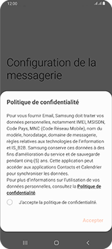 Samsung Galaxy A80 - E-mail - 032c. Email wizard - Outlook - Étape 9