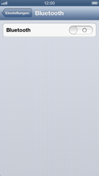 Apple iPhone 5 - Bluetooth - Verbinden von Geräten - Schritt 6