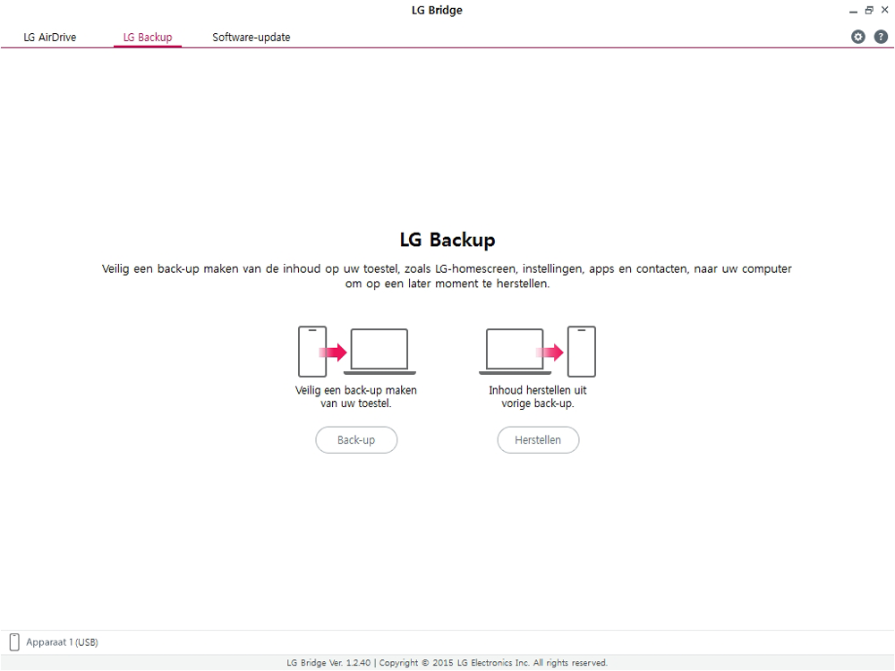 LG g7-fit-dual-sim-lm-q850emw-android-pie - Software - Back-up maken of terugplaatsen - Stap 4