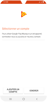 Samsung Galaxy A40 - Photos, vidéos, musique - Ecouter de la musique - Étape 4
