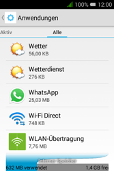Alcatel Pixi 3 (3.5) - Apps - Eine App deinstallieren - Schritt 6