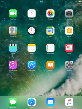 Apple iPad Air 2 iOS 10 - Internet - Manual configuration - Step 1