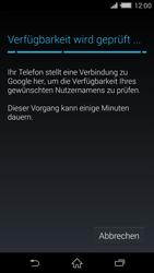 Sony Xperia Z2 - Apps - Konto anlegen und einrichten - Schritt 9