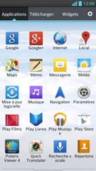LG Optimus F5 - Internet et connexion - Accéder au réseau Wi-Fi - Étape 3