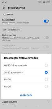 Huawei P20 - Android Pie - Netzwerk - So aktivieren Sie eine 4G-Verbindung - Schritt 6