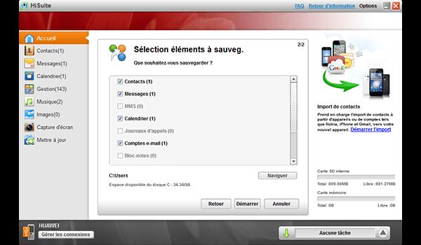Huawei Y5 - Logiciels - Comment effectuer une sauvegarde de votre appareil - Étape 6