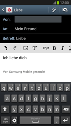 Samsung Galaxy S III - OS 4-1 JB - E-Mail - E-Mail versenden - 10 / 18