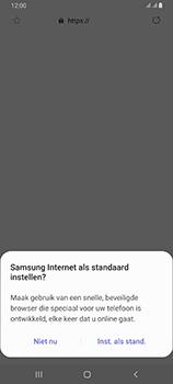 Samsung galaxy-a80-dual-sim-sm-a805fz - Internet - Hoe te internetten - Stap 5
