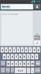 LG Optimus F5 - Contact, Appels, SMS/MMS - Envoyer un SMS - Étape 8
