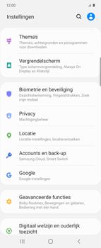 Samsung Galaxy Z Flip Single-SIM + eSIM (SM-F700F) - Instellingen aanpassen - Back-up maken in je account - Stap 4