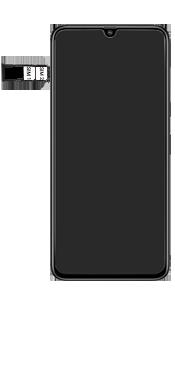 Samsung Galaxy A70 - Toestel - simkaart plaatsen - Stap 6