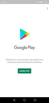 Huawei P20 - Android Pie - Apps - Konto anlegen und einrichten - Schritt 3