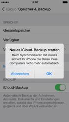 Apple iPhone 5 iOS 7 - Apps - Konfigurieren des Apple iCloud-Dienstes - Schritt 11