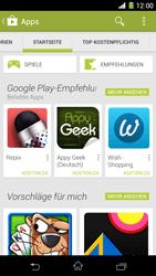 Sony Xperia Z1 - Apps - Herunterladen - 5 / 20