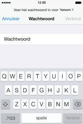 Apple iPhone 4 iOS 7 - wifi - handmatig instellen - stap 6