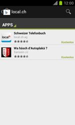 Samsung Galaxy S II - Apps - Installieren von Apps - Schritt 6