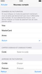 Apple iPhone 6 - Applications - Créer un compte - Étape 19