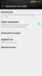 HTC One - Internet e roaming dati - Configurazione manuale - Fase 6