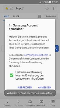 Samsung Galaxy A8 - Internet und Datenroaming - Verwenden des Internets - Schritt 10