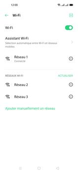 Oppo Reno 4 Pro - Internet et connexion - Accéder au réseau Wi-Fi - Étape 8