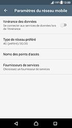 Sony Xperia XA (F3111) - Android Nougat - Réseau - Changer mode réseau - Étape 6