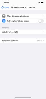 Apple iPhone XS Max - iOS 13 - E-mail - Configurer l